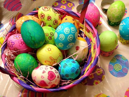 Пъстри яйчица